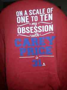 Red Hoodie - My Obsession with Carey Price