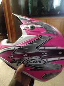 XS Womens DOT ATV Helmet