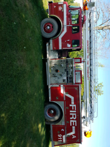 Fully functional ladder truck