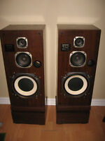 PIONEER CS-E9000 3-Way Tower Speakers w/ Box Stands