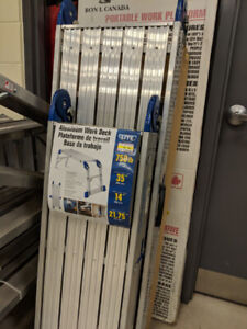 STORE CLEARANCE - LADDERS