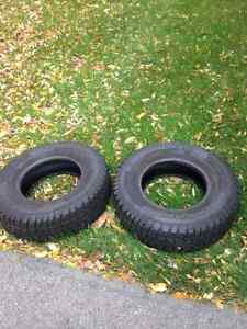 Selling Two Snow Tires 235/75R15