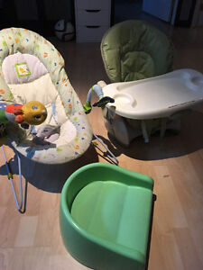 Chaise haute - Siège d'appoint type Bumbo - Booster