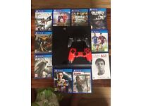 Ps4 9 games, 2 controllers/ swap for iPhone 6