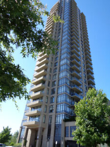 Modern 2BD Condo in Oma1 Tower at Burnaby, Bentwood