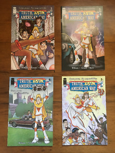 Lot Of 4 Truth, Justin, And The American Way Comics