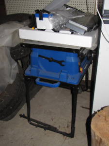 Master Craft, Brand New, Never Used table saw