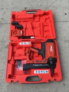New HILTI GX2-01 GAS ACTUATED FASTENING TOOL