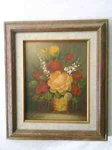 Vintage Original oil painting  art