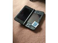 Bargain price New Nintendo 3DS XL IN BLACK with pokemon