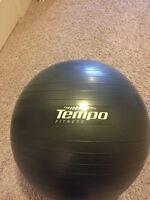 Tempo Fitness yoga exercise physio ball