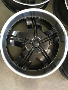 4 mags neuf 24 pouce Ford or GM 6x135 ---- 6x139.7