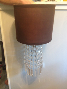 Chocolate Brown Chandelier