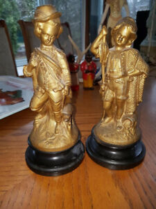 Pair of gorgeous antique Victorian (1890s) American (New York) g