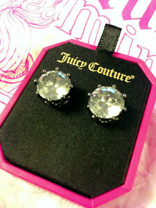 Juicy Couture - Punk Rocks Dirty Diamond Oversized Stud Earring