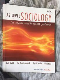 AS LEVEL SOCIOLOGY