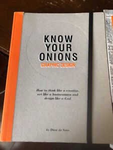 Graphic Design Books (Know Your Onions and Thinking With Type)