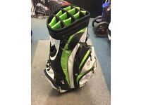 TAYLORMADE 14 WAY CART BAG. AVERAGE CONDITION