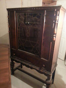 Antique Buffet Hutch by Berkey and Gay Co.