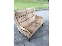VINTAGE HIGH BACK SOFA UPHOLSTERY PROJECT ** FREE DELIVERY AVAILABLE **