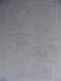 Large Grey Wall Tiles 'on trend' by Johnson