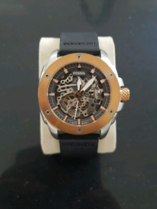 Mens fossil modern machine automatic watch