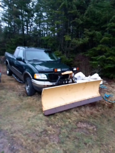 2002 ford f150 with plow