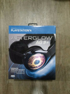 PDP Afterglow AG 9+ Wireless Headset for PS4 - $60 obo