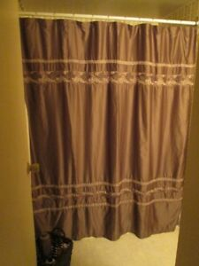 New Silky Shower Curtain
