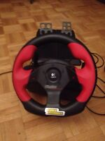 Volant de course pour pc wingman with pedals
