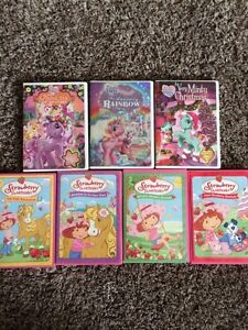 My Little Pony and Strawberry Shortcake dvd's