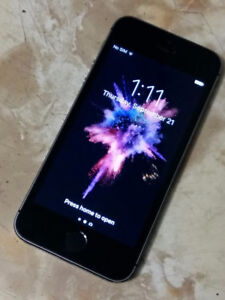 IPhone 5s 16Gb - Space Grey/Nice - BELL