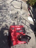 Toro snowblower 4.5 hp