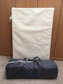 Travel cot by Babystart and mattress