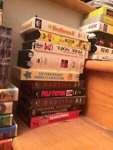 Très gros lot - cassette VHS variés. Faites vos offres. West Island Greater Montréal image 4