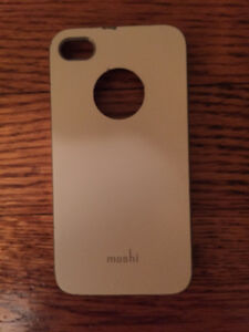 iPhone 4S Moshi White Plastic Back Case