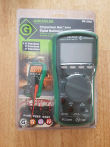 Greenlee DM-200A Digital Multimeter 600V CATIII