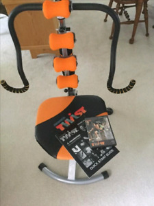 Ab Doer Twist workout machine with bonus items