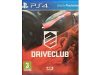 Console vertical stand Fifa 15 and Drive club for PlayStation 4