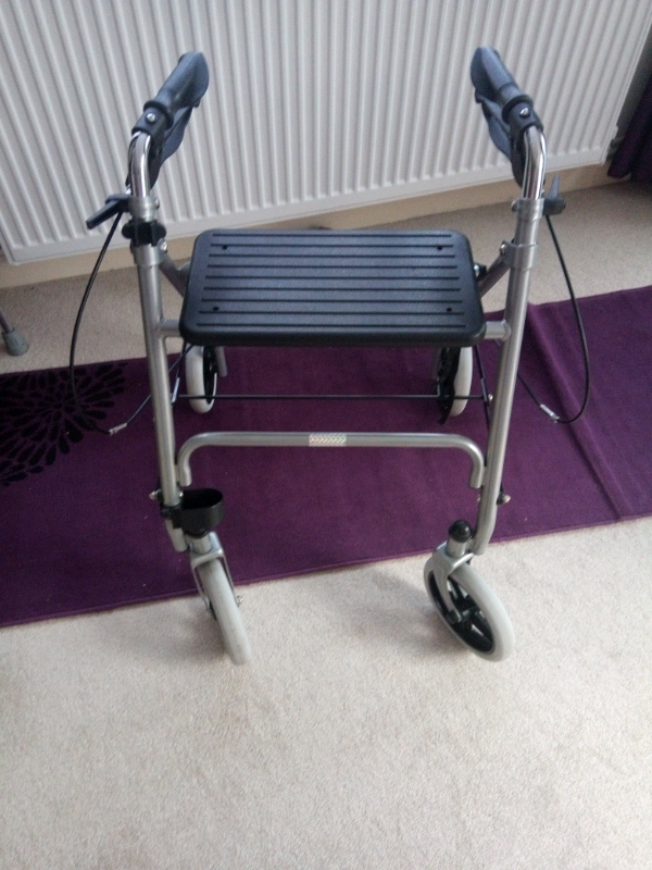 13460ff620d Wheeled walking frame | in Colchester, Essex | Gumtree