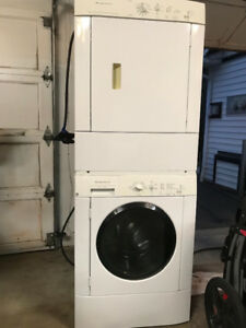 Frigidaire stacking washer and dryer