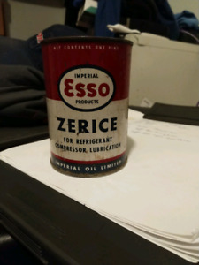 Collectable ESSO CAN