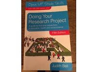 Doing Your Research Project - Judith Bell