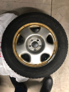 Winter Tires Michelin X Ice With Rims - 17inch