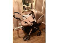 Silvercross pioneer pram & Car seat