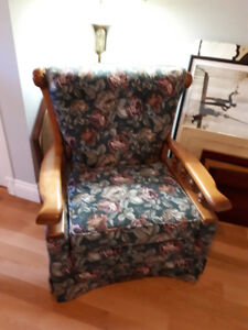 Reupholstered Couch and Chair - Very Good Condition