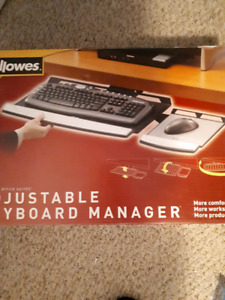 adjustable keyboard manager