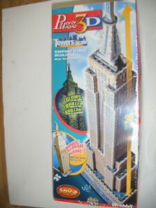 3D Puzzle of Empire State Building for sale