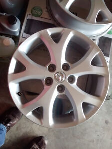 "Original  Mazda 3 ,17"" Alloy rim"