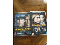 HOMELAND - Complete Sets of Series 1 & 2 (8 DVDs - 24 Episodes)
